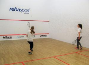 squash - pierwsze próby
